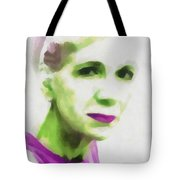 Gazing Through Glass Tote Bag