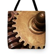 Gear Wheels Tote Bag