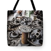 Geared Out Tote Bag