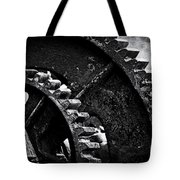 Geared Up Tote Bag