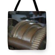 Gears Of Progress Tote Bag