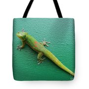 Gecko Crossing Tote Bag
