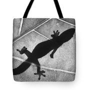 Gecko Shadow Tote Bag