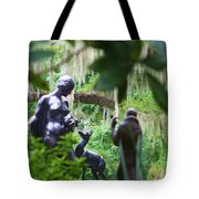 Goddess Of The Woods Tote Bag