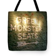 Geen Monster Seats Sign Tote Bag
