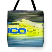 Geico Off Shore Racing Tote Bag