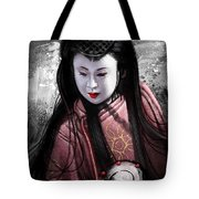 Geisha Kunoichi Tote Bag