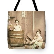 Geishas Bathing Tote Bag
