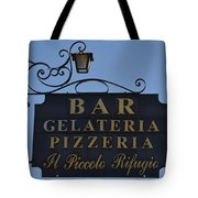Gelateria Pizzeria Tote Bag