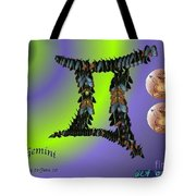 Gemini By Alice Terrill And William Baumol Tote Bag