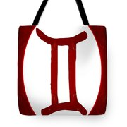 Gemini And Root Chakra Abstract Spiritual Artwork By Omaste Witk Tote Bag