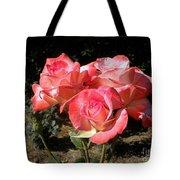 Gemini Tea Rose Tote Bag