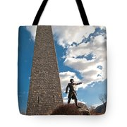 Gen. John Stark At The Bennington Battle Monument Tote Bag