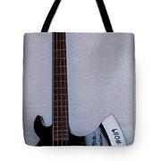 Gene Simmons Hatchet Bass Guitar Tote Bag