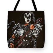 Gene Simmons Of Kiss Tote Bag