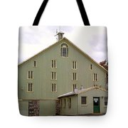 General And President Dwight D. Eisenhower Old Barn Tote Bag