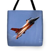 General Dynamics F-16am Fighting Falcon Tote Bag