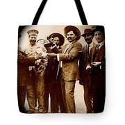 General Fierro With Chicken And Villa Unknown Location Or Date-2013 Tote Bag