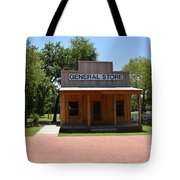 General Store At Historical Park Tote Bag