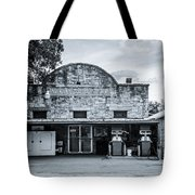 General Store In Independence Texas Bw Tote Bag