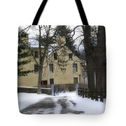 General Wayne Inn In Winter Tote Bag