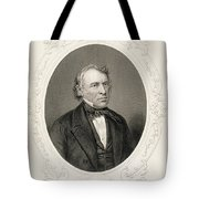 General Zachary Taylor, From The History Of The United States, Vol. II, By Charles Mackay, Engraved Tote Bag