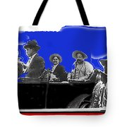 Generals Fierro And Villa Riding In Car #2 No Known Location Or Date-2013 Tote Bag