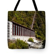 Generator House Of Hydro-electric Power Plant Tote Bag
