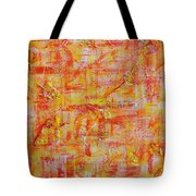 Genesis Chapter One Verse One Tote Bag
