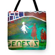 Genesis  By Janelle Dey Tote Bag