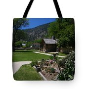 Genoa Log Cabin Tote Bag
