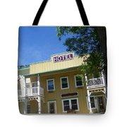 Genoa Vintage Hotel Tote Bag