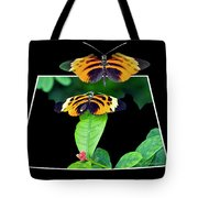 Gentle Butterfly Courtship 01 Out Of Bounds Tote Bag