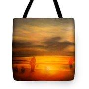 Gentle Sunset Vision Tote Bag