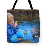 Gentle Touch Tote Bag