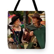 Gentleman And His Lady Tote Bag