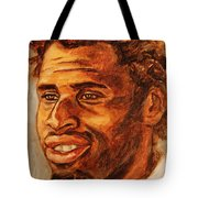 Gentleman With Goatee Tote Bag