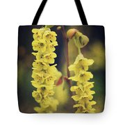 Gently Falling Tote Bag by Laurie Search