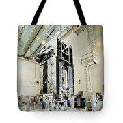 Geo-1 Satellite In Lab Tote Bag