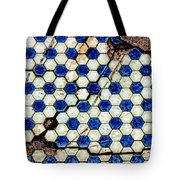 Geographic Tile Tote Bag