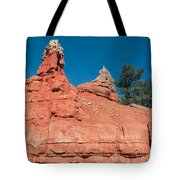 Geological Forces At Red Canyon Tote Bag