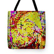 Geometric Abstractions Artwork Colorful Cool Creations Designer Phone Cases 121 Carole Spandau  Tote Bag
