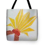 Geometric Blooming Lotus Tote Bag