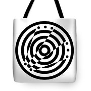 Geometric Circle 6 Tote Bag