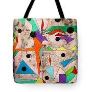 Geometric Conundrum Tote Bag