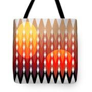 Geometric Fun Tote Bag by Mark Ashkenazi