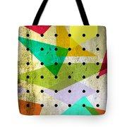 Geometric In Colors  Tote Bag by Mark Ashkenazi