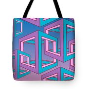 Geometric  Tote Bag by Mark Ashkenazi