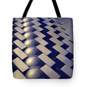 Geometric Shapes Of Gold Tote Bag