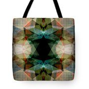 Geometric Textured Abstract  Tote Bag